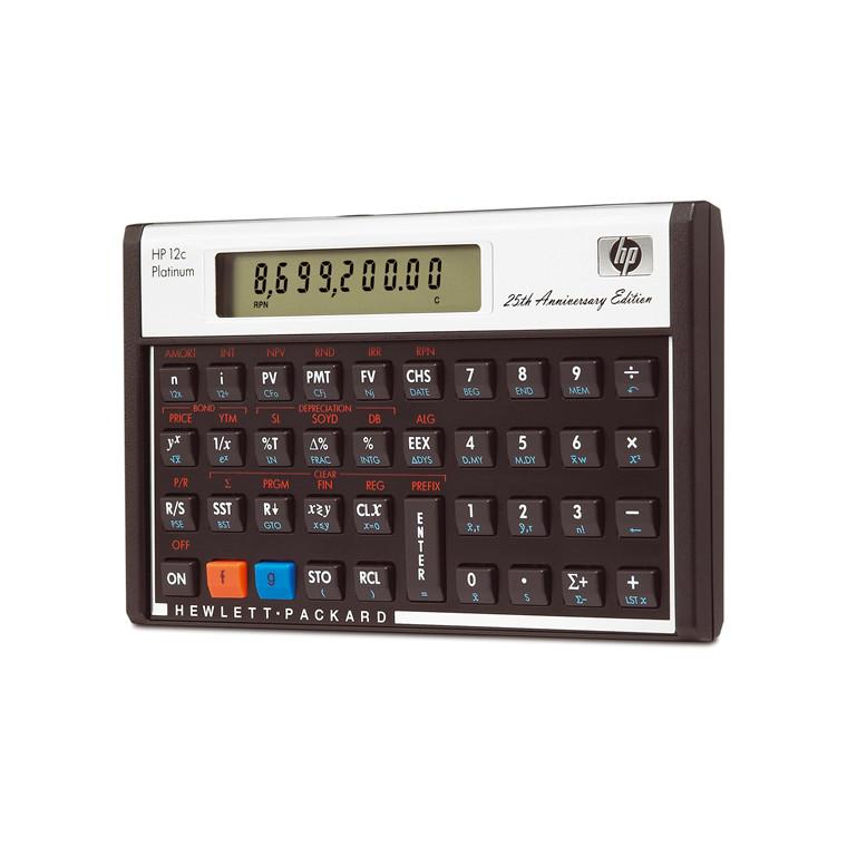 HP 12C Platinum - Finansregner