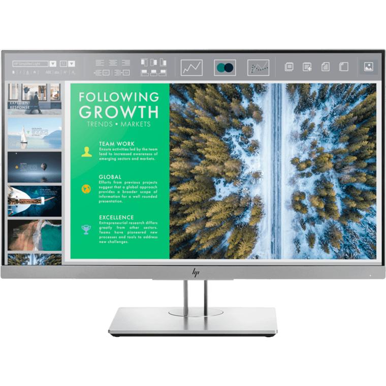HP 23,8'' EliteDisplay E243 Monitor, Black/Silver