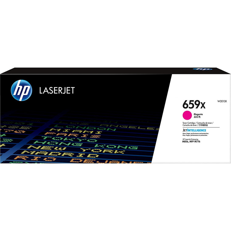 HP 659X  High Yield Magenta LaserJet Toner Cartridge 29k