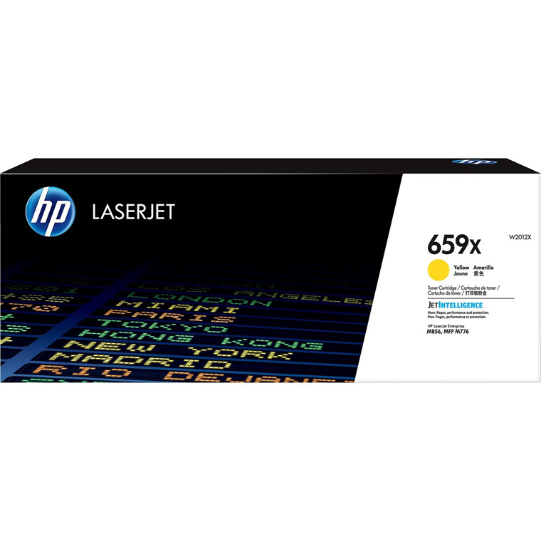 HP 659X  High Yield Yellow LaserJet Toner Cartridge 29k
