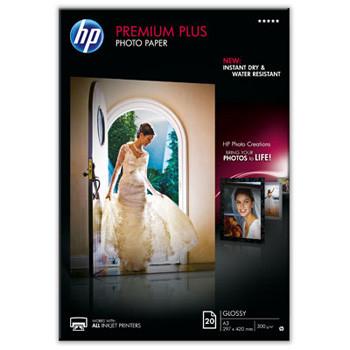 HP - A3 Premium Plus glossy Foto papir 300 gram - 20 ark