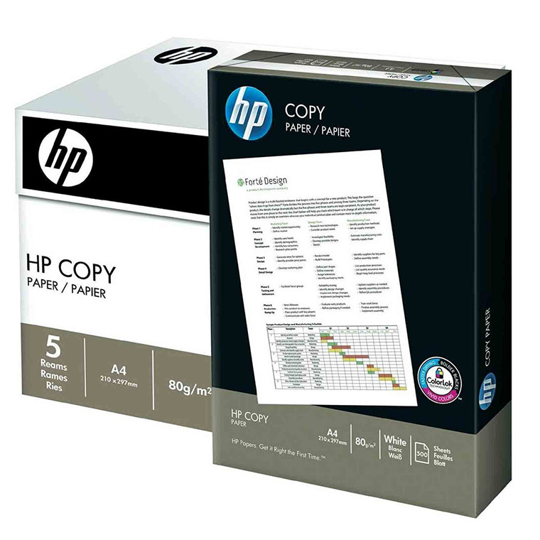 Kopipapir A4 - HP 80 gram - 500 ark
