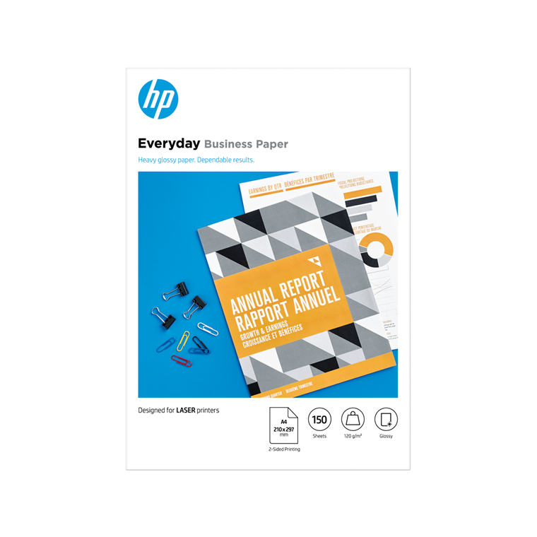 HP A4 Laser Everyday Business paper 120g (150)