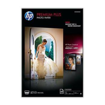 HP - A4 Premium Plus glossy Foto papir 300 gram - 50 ark