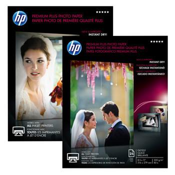 HP - A4 Premium Plus Foto papir 300 gram - 20 ark