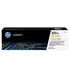 HP Color LaserJet 201A yellow toner