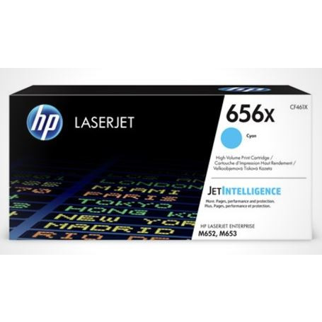 HP Color Laserjet 656X cyan toner