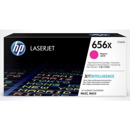 HP Color Laserjet 656X magenta toner