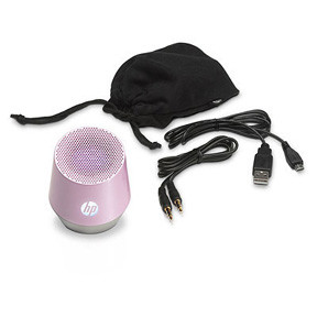 HP Mini S4000 Pink Portable Speaker