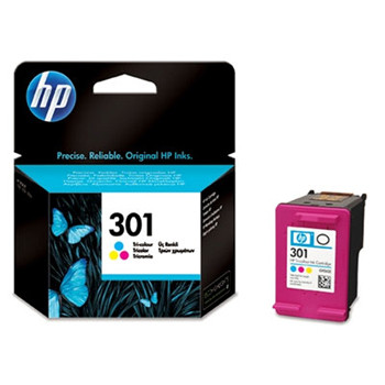 HP No301 color ink cartridge, blistered