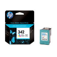 HP No342 color ink cartridge, blistered
