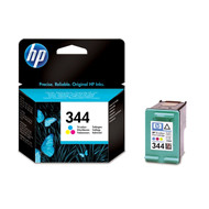 HP No344 color ink cartridge, blistered