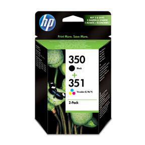 HP No350 / No351 ink (sampack) blistered