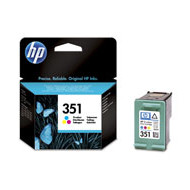 HP No351 color ink cartridge, blistered