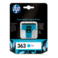 HP No363 cyan ink cartridge, blistered