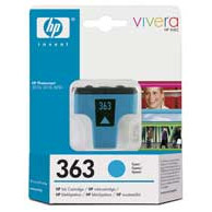 HP No363 cyan ink cartridge