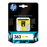 HP No363 yellow ink cartridge, blistered