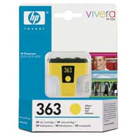 HP No363 yellow ink cartridge