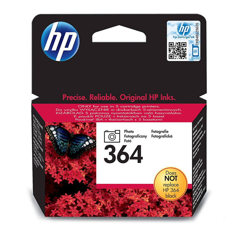 HP No364 photo black ink cartridge