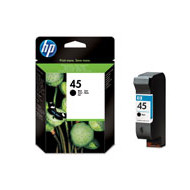 HP No45 black large ink cartridgeblistered