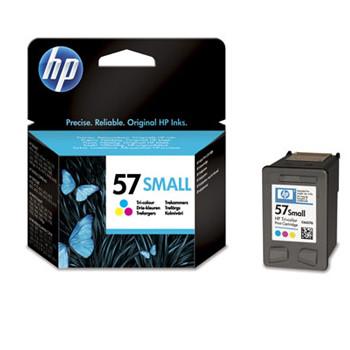HP No57 color ink cartridge low cap