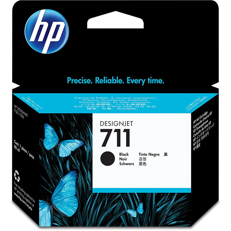 HP No711 black ink cartridge