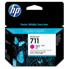 HP No711 magenta ink cartridge, 29 ml (3)