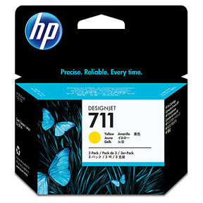 HP No711 yellow ink cartridge, 29 ml (3)