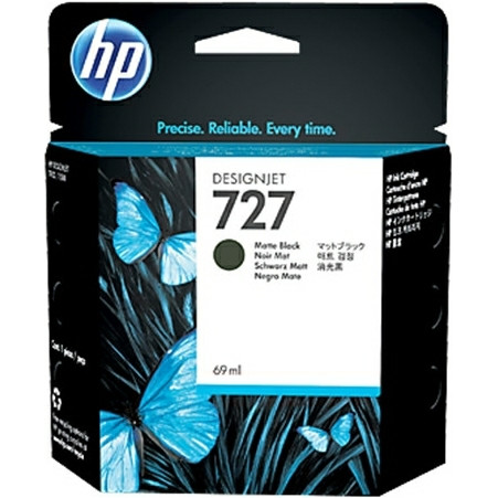 HP No727 matte black ink cartridge, 300 ml