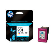 HP No901 color ink cartridge, blistered