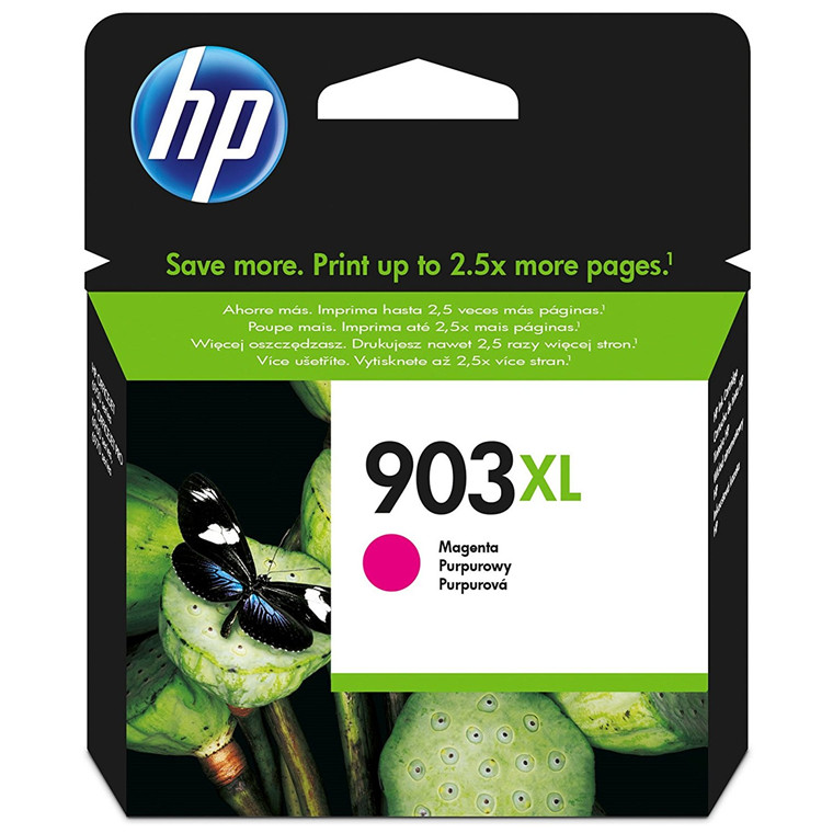 HP No903XL magenta ink cartridge