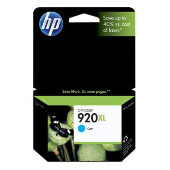 HP No920 XL officejet cyan ink cartridgeblistered