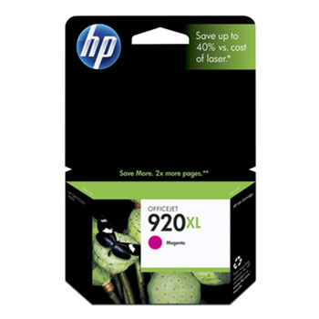 HP No920 XL officejet magenta ink cartridge