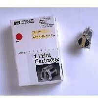HP ThinkJet red inkjet cartridge