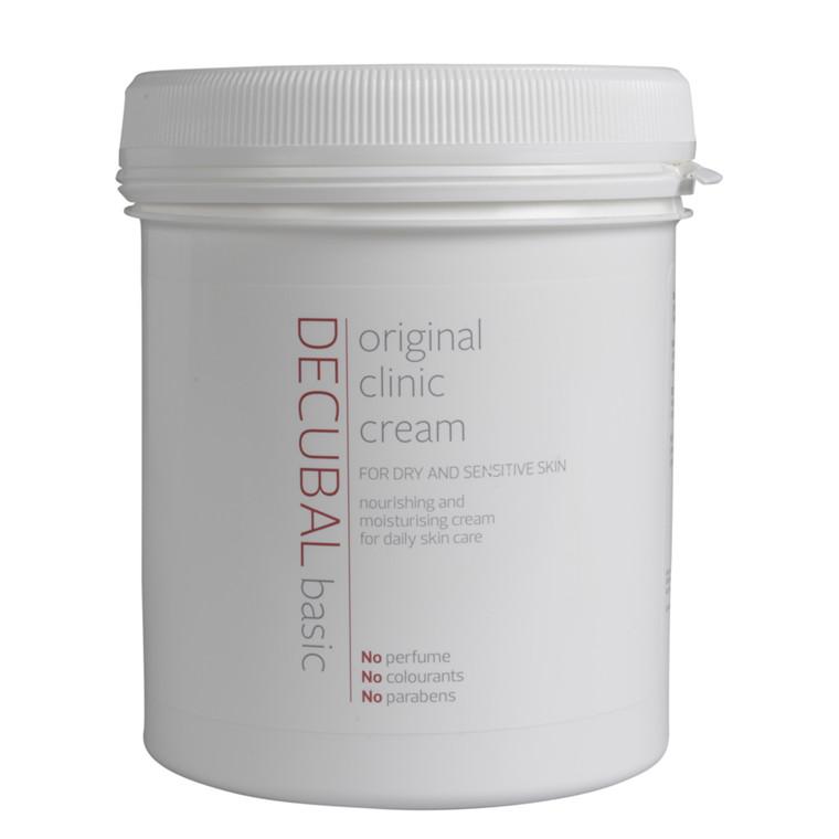 Hudcreme, Decubal Clinic, uden farve og parfume, 1000 ml