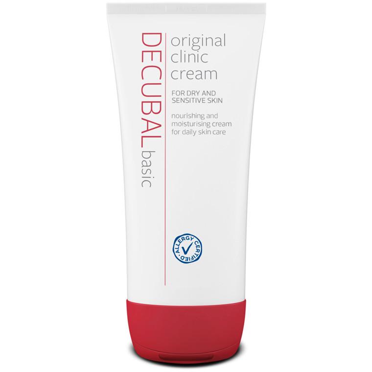 Hudcreme, Decubal Clinic, uden farve og parfume, 38% fedt, 100 g