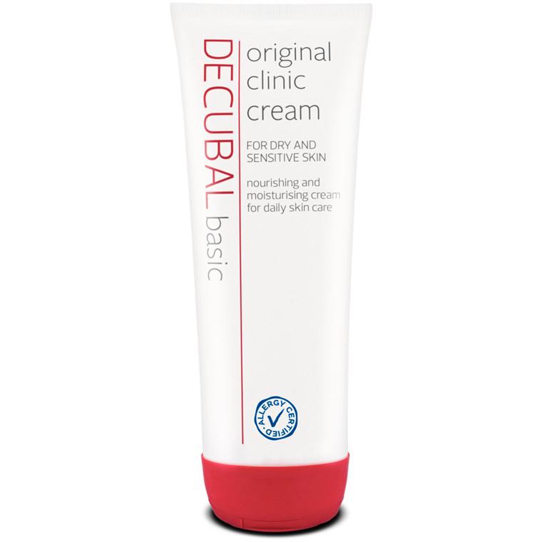 Hudcreme, Decubal Clinic, uden farve og parfume, 38% fedt, 250 g