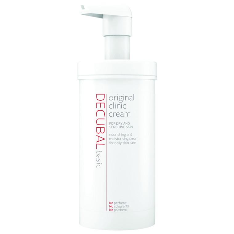 UDSOLGT Hudcreme, Decubal Clinic, uden farve og parfume, 38% fedt, 475 g