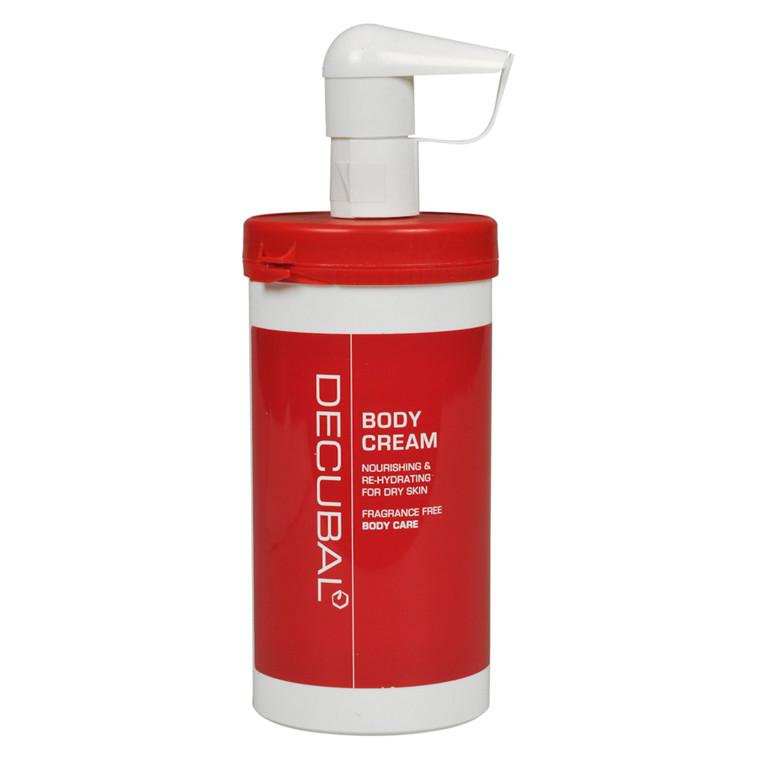 Hudcreme, Decubal, uden farve og parfume, 40% fedt, 485 g