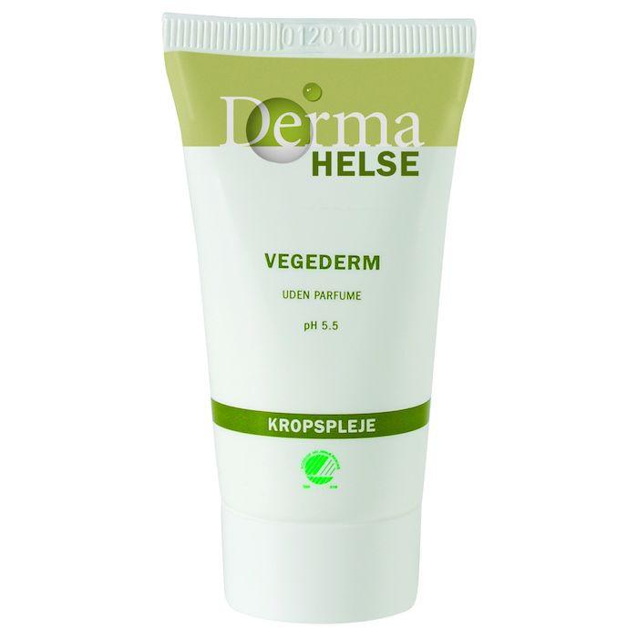 Hudcreme, Derma Helse Vegederm, Uden farve og parfume, 16% fedt, 25 ml