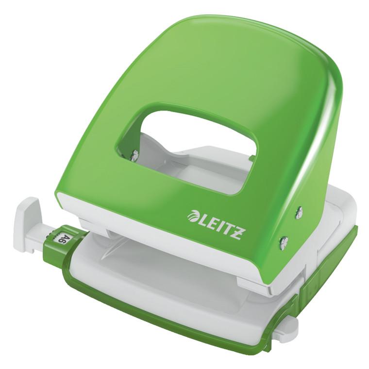 Leitz hulapparat 5008 - 2 huls 30 ark grøn