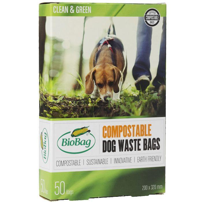 BioBag hundeposer komposterbare sort  3 l -  50 stk