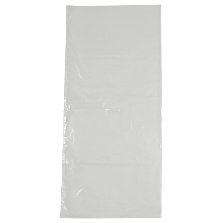 Husholdningsposer, Poly-Line, uden foldning, uden tryk, 28x45 cm, 10 my, HDPE, transparent, 70stk/rl
