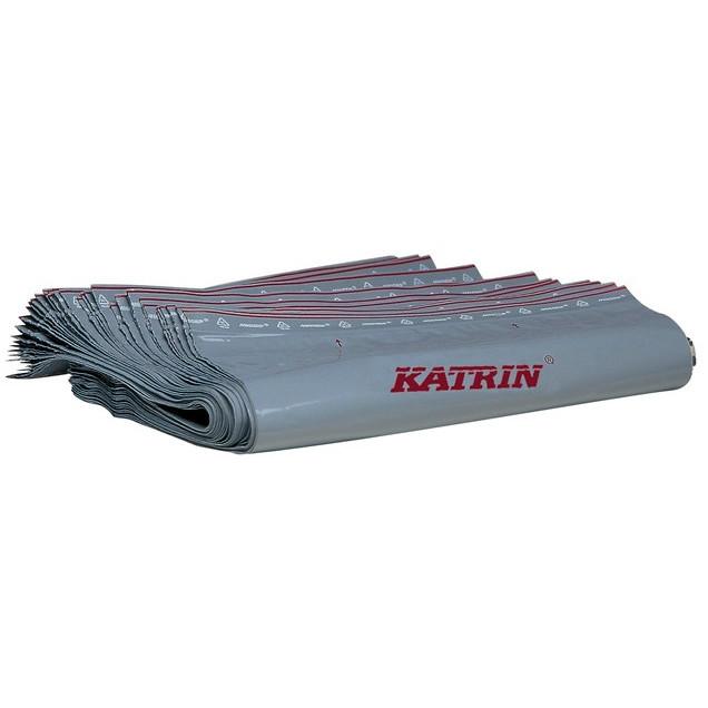 Katrin 962625 Bin Liner - Grå Hygiejneposer - 4 x 50 stk