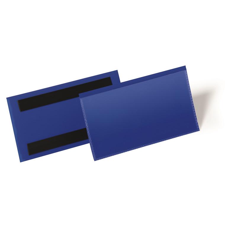 Hyldeforkant blå med magnet - 150 x 67 mm