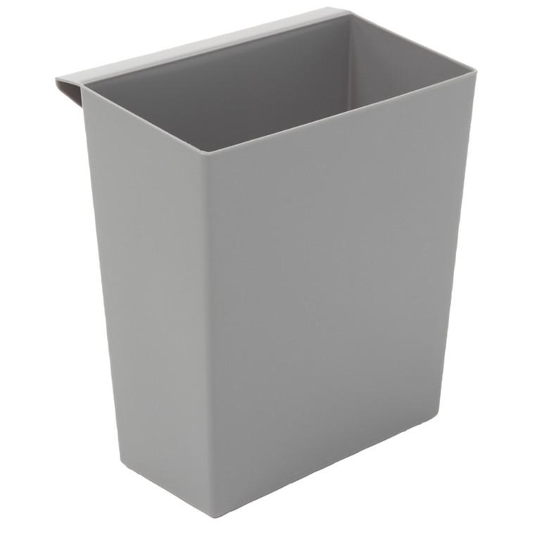 Indsats, grå, 9,5 l