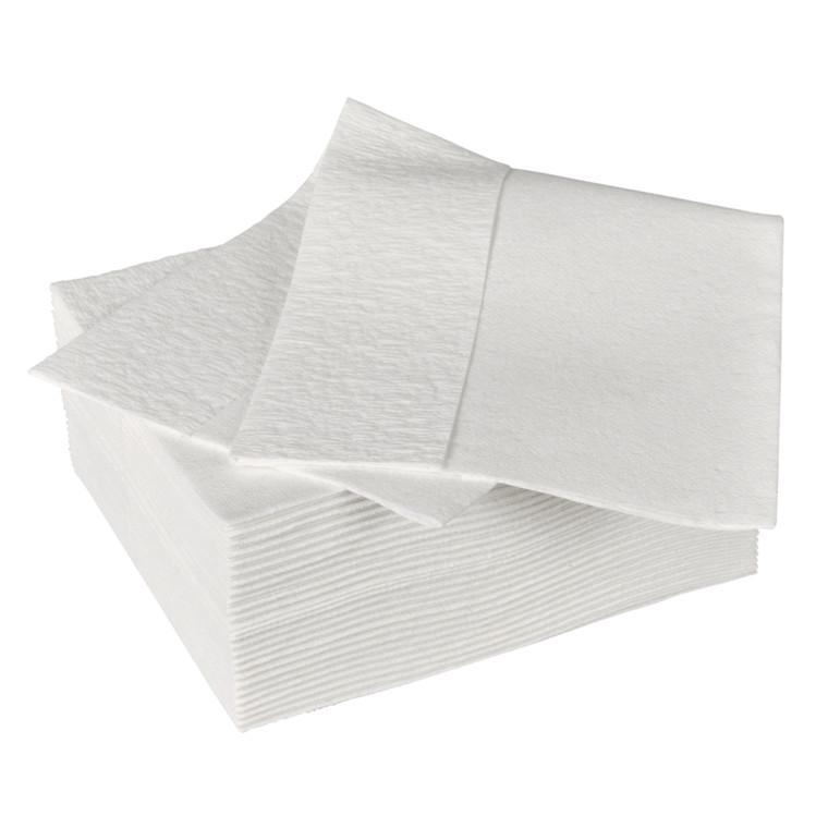 Industri aftørring Neutral 1/4 fold i pose hvid Bredde 30 cm | Længde 38 cm