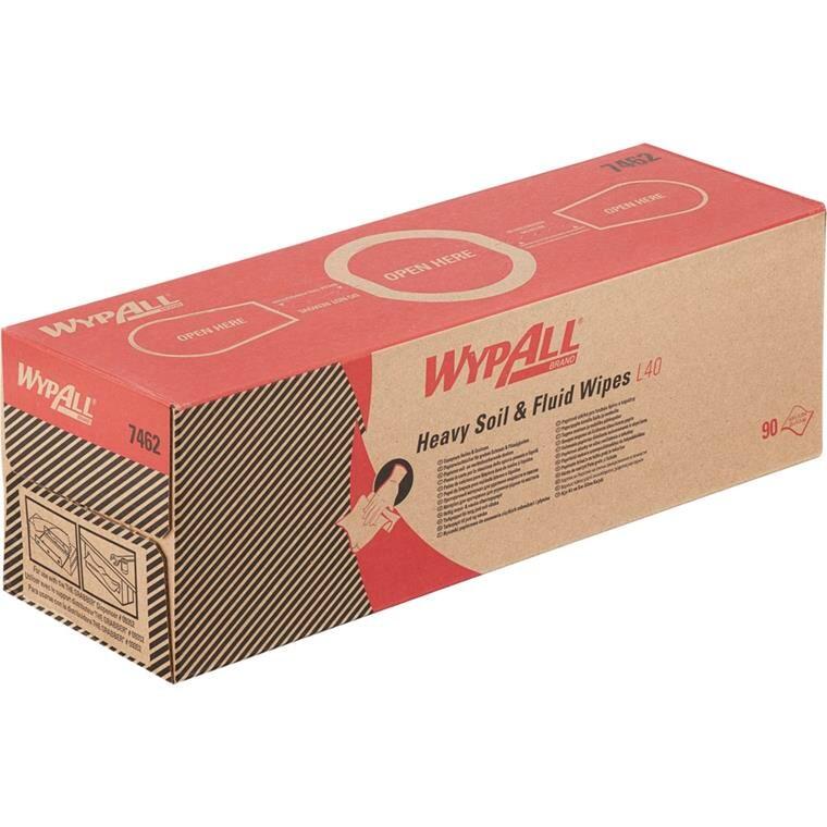 Industri aftørring WyPall L40 plukæske hvid Bredde 42 cm | Længde 25 cm