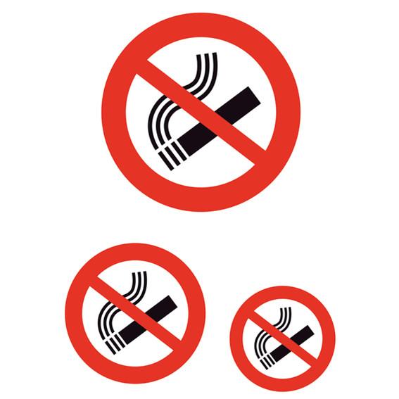 Information labels HERMA ''Don´t smoke'' weatherproof 1 sh.