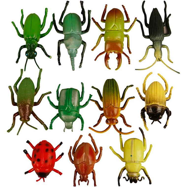 Insekter, str. 5 cm, 60ass.